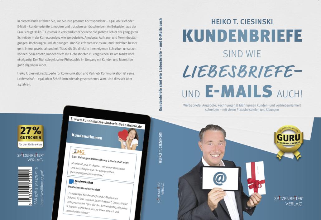 Cover von Kundenbriefe sind wie Liebesbriefe
