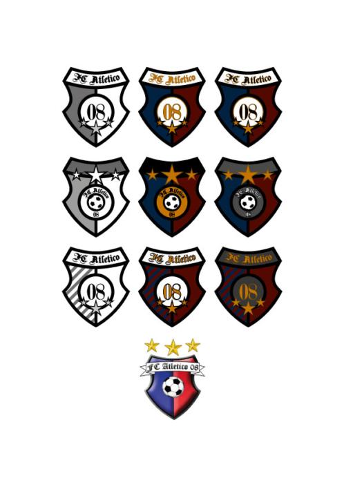 Logoentwürfe Fußballverein