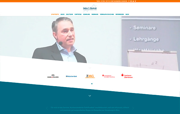 Website zu Heiko T. Ciesinski