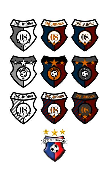 Fußballlogo-Redesign